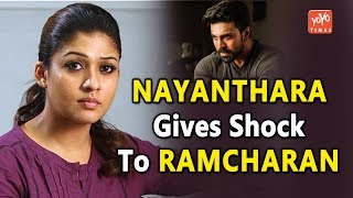 Nayanthara Gives Shock To Ramcharan!- Sye Raa..