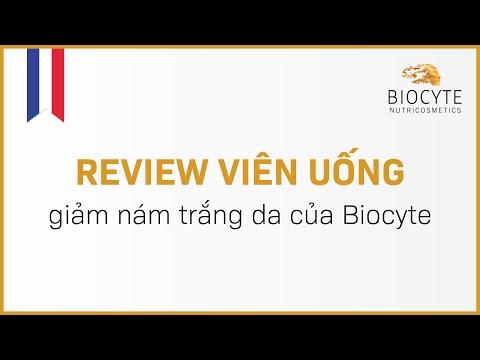 Review viên uống giảm nám trắng da của Biocyte