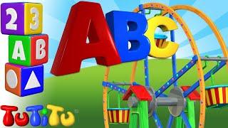 Aprende inglés | El Abecedario en Ingles | ABC Rueda gigante | TuTiTu Preescolar