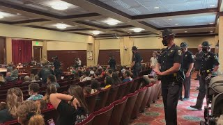 Raw video: Idaho State Police remove man from special session committee meeting