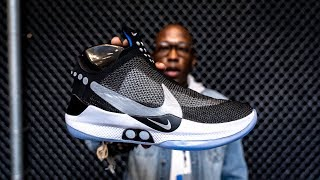 HANDS ON: Nike ADAPT BB Self-Lacing BASKETBALL SNEAKER