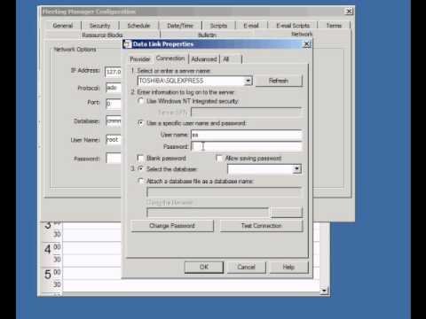 Meeting Manager Enterprise MS SQL ADO Setup