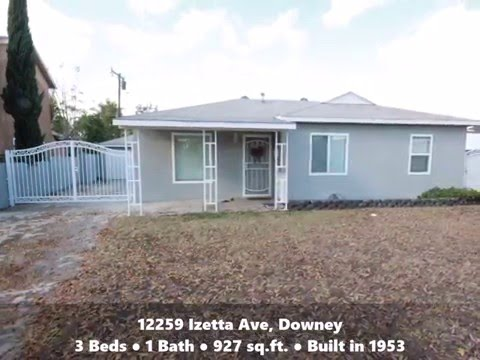 John Man Group Home for Sale: 12259 Izetta Ave, Downey