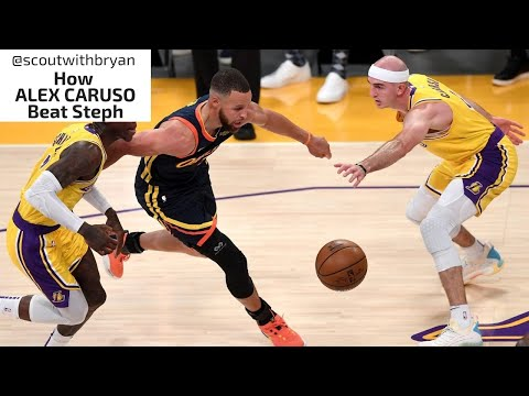 How ALEX CARUSO Beat Steph Curry