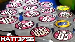 DESTROYING an Overfilled Prize Arm - TONS of TICKETS!   Arcade Nerd  