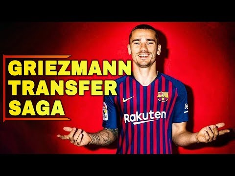 FC BARCELONA Transfer News | Antoine Griezmann Transfer Saga