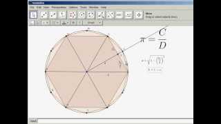 Finding Pi by Archimedes' Method