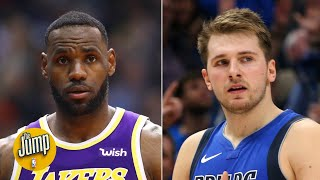 Luka Doncic joined a club only LeBron was in, showing anything is possible in the NBA   The Jump
