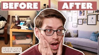 Keith & Becky's $3,000 Junk Room Makeover • Try DIY