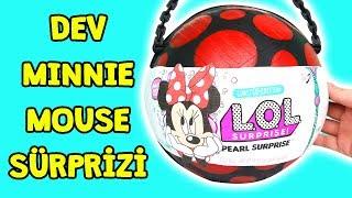 Dev LOL Minnie Mouse Sürpriz Yumurtası Kendi Yaptığım Zep'in Oyuncakları