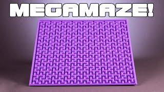 Solving the Confusing Fractal Megamaze by Oskar van Deventer!!