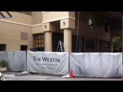 Westin Gaslamp Quarter - Day 2 - May 4th 2012 #1.MOV