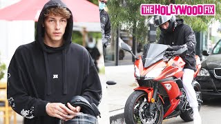 Tayler Holder Talks Charly Jordan, Logan Paul, New Projects & More On His New Bike At Toast Cafe
