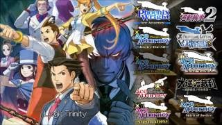 Ace Attorney: All Logic/Trick Themes 2016