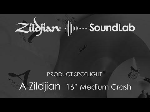 """16"""" A Zildjian Medium Crash - A0240"""