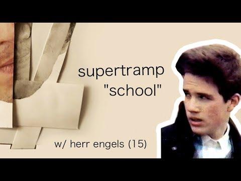 Supertramp - School // 1987 Schüler Video