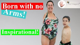 """""""I will be the next Oprah!"""" Most inspirational no-legs-no-arms humans~ Body Bizarre!"""