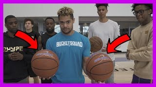 SUPER HEAVY BASKETBALL KNOCKOUT CHALLENGE #2HYPE FT. NBA STAR DE'AARON FOX