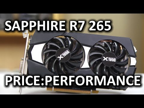 Sapphire Radeon R7 265 Video Card - Smashpipe Tech
