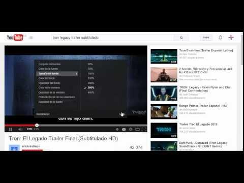YouTube cómo se activa los subtitulos