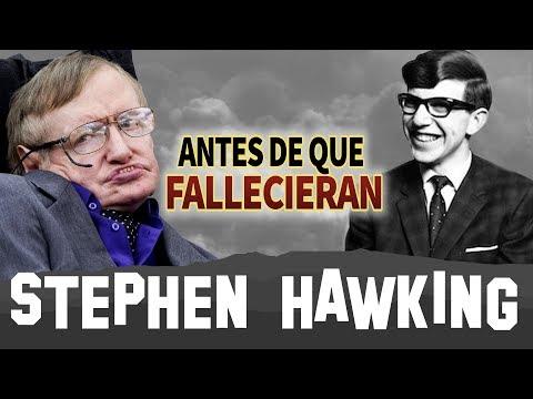 STEPHEN HAWKING - Antes De Que Fallecieran - BIOGRAFIA