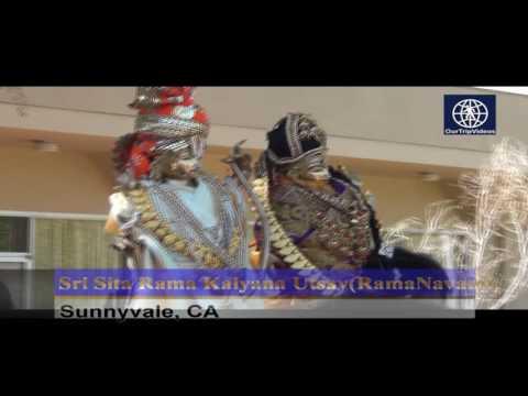 Pictures of Sri Sita Rama Kalyana Utsav (RamaNavami), Sunnyvale, CA, USA