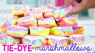 How to Make TIE DYE Marshmallows (+ BIG ANNOUNCEMENT)!