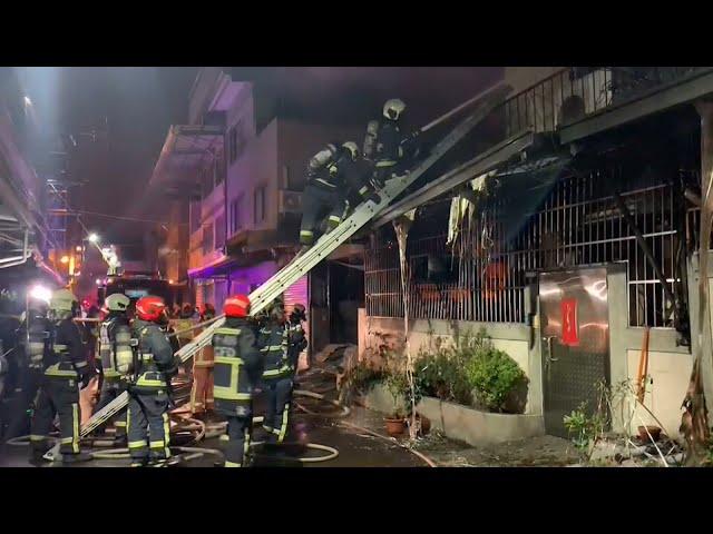 台中太平民宅大火 42歲身障盲女罹難