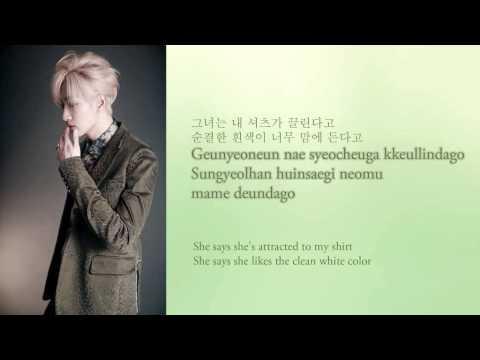 Super Junior - Shirt Lyrics (Hangul/Romanization/English)