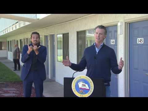Gov. Gavin Newsom gives coronavirus update as cases surge in California