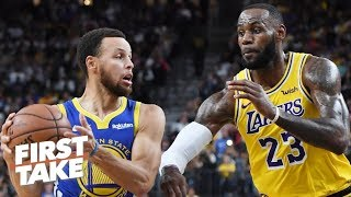 Steph Curry is more influential than LeBron on the court - Max Kellerman | First Take