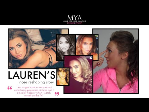 Lauren Goodger's Rhinoplasty Story