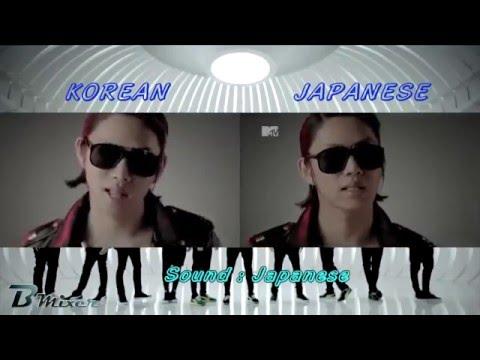 Super Junior - Mr.Simple | Korean - Japanese MV Comparison