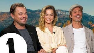 """Just ****ing do it!"" Leonardo DiCaprio, Brad Pitt & Margot Robbie on Tarantino's Hollywood."