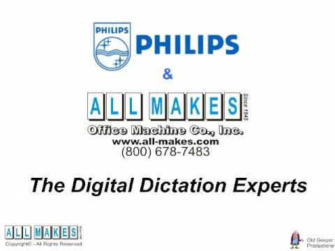 Philips SpeechMike Air Digital Dictation from All Makes Office Machine