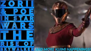 Zorii Bliss and Poe Dameron's complicated relationship in Star Wars: The Rise of Skywalker!