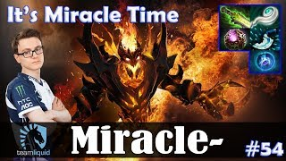 Miracle - Shadow Fiend MID | It's Miracle Time :D | Dota 2 Pro MMR Gameplay #54