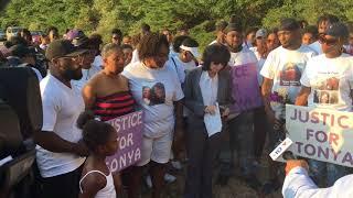 Family holds vigil for murder victim Tonya Cook
