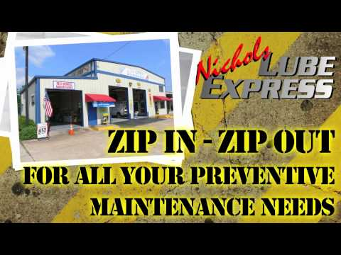 Nichols Lube Express - Celebrating 20 Years Of Serving You