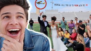 I HELPED A FAN ASK HER CELEBRITY CRUSH TO PROM (SURPRISE)    Brent Rivera