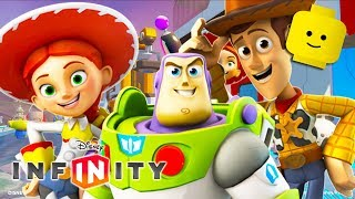 TOY STORY Cartoon Game Videos for Kids - Complete Video Games for Children - Disney Infinity