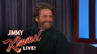 Zach Galifianakis Has Many Pre-Existing Conditions