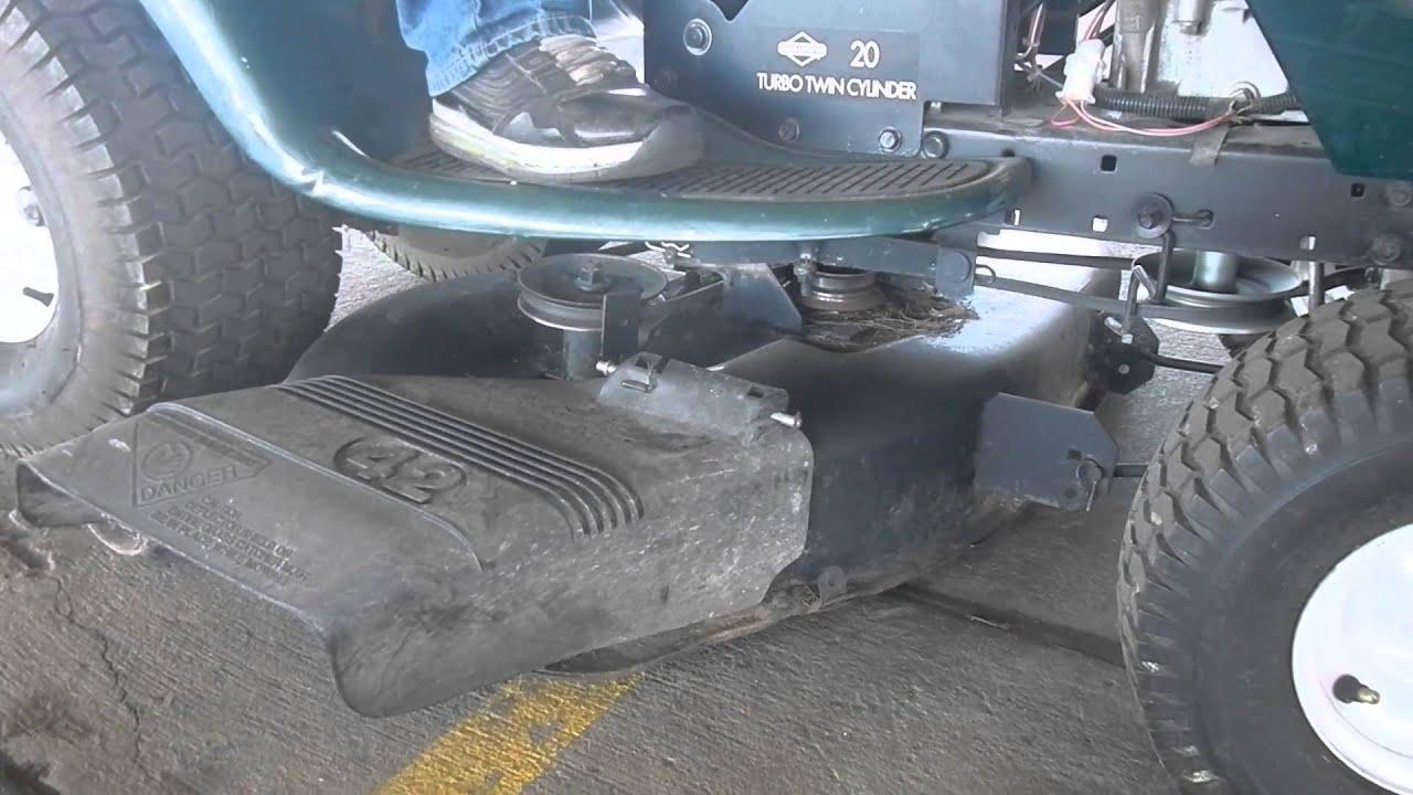 Craftsman Turbo Twin Cylinder 20hp 42inch Cut Riding