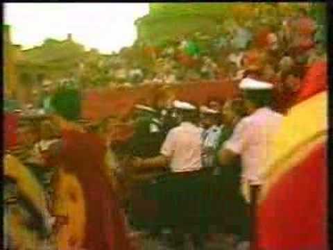 74a Giostra del Saracino 28 agosto 1988