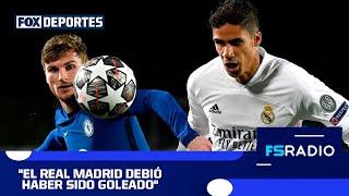 Paliza táctica del Chelsea al Real Madrid: FOX Sports Radio