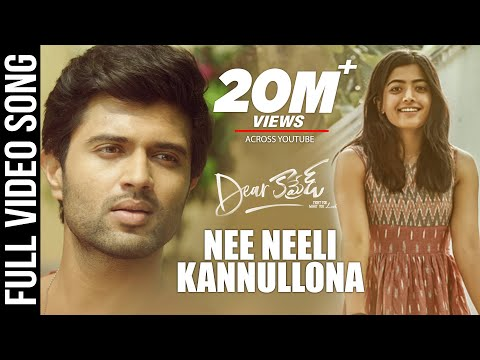 Dear-Comrade-Telugu-Nee-Neeli-Kannullona-Video-Song