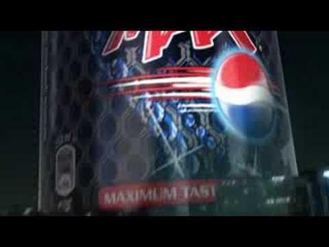 Pepsi Max - bigger bottles