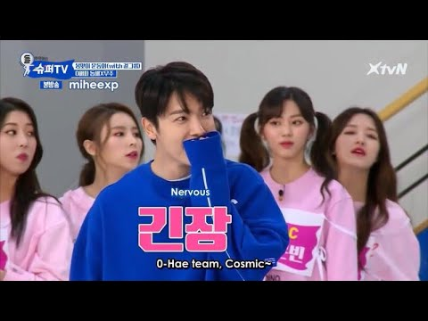 [ENGSUB] SuperTV EP11 - Donghae Runs Away from Cosmic Girls