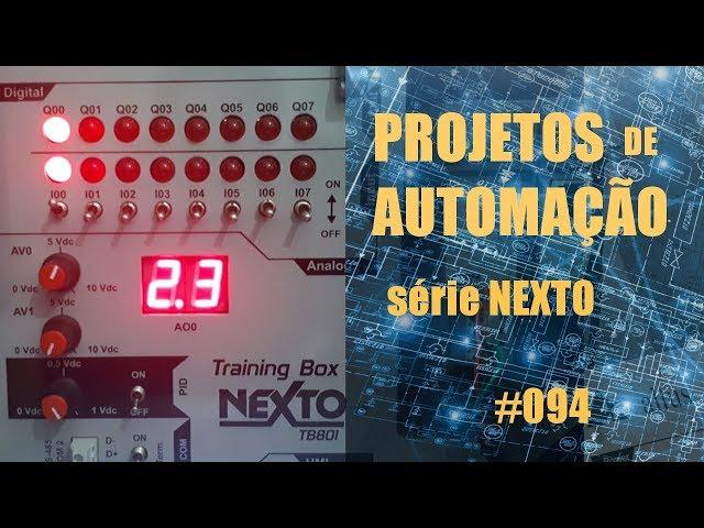 TESTE DE TENSÃO DA REDE COM CLP NEXTO | Projetos de Automação #094