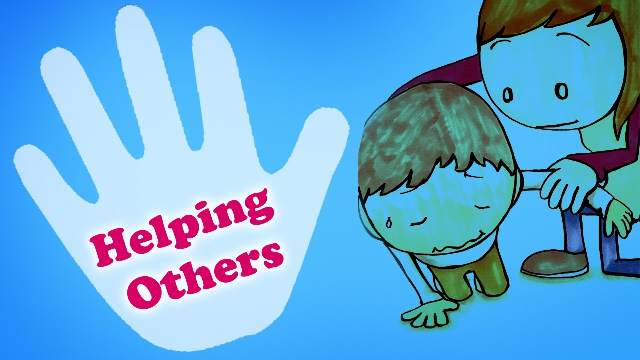 Helping Each Other: Kids Learning Videos -Helping Each Other